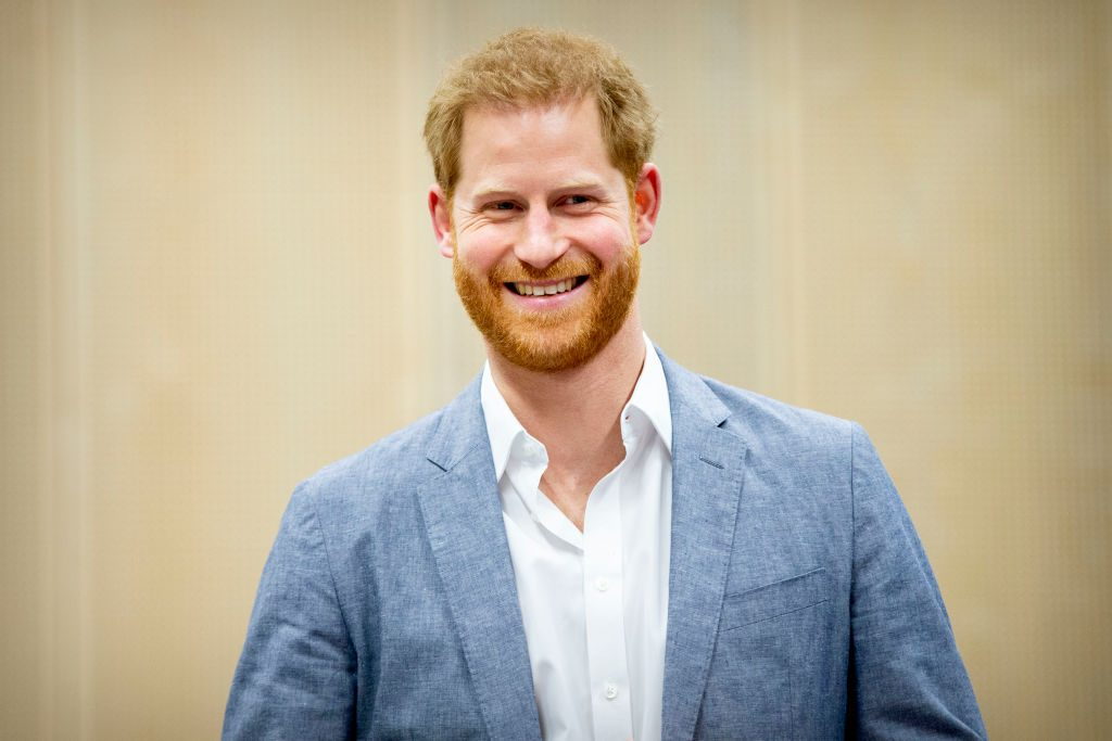 Prince Harry at Launch Of The Invictus Games 2020 in The Hague