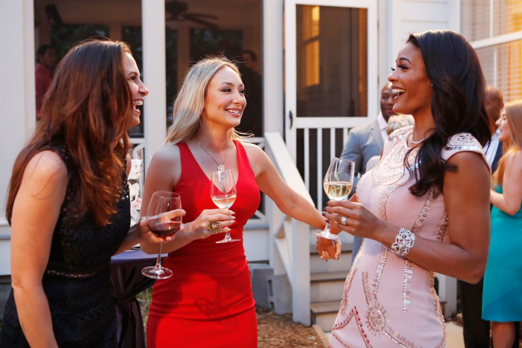 Reagan Charleston and Tamica Lee  in Southern Charm: New Orleans