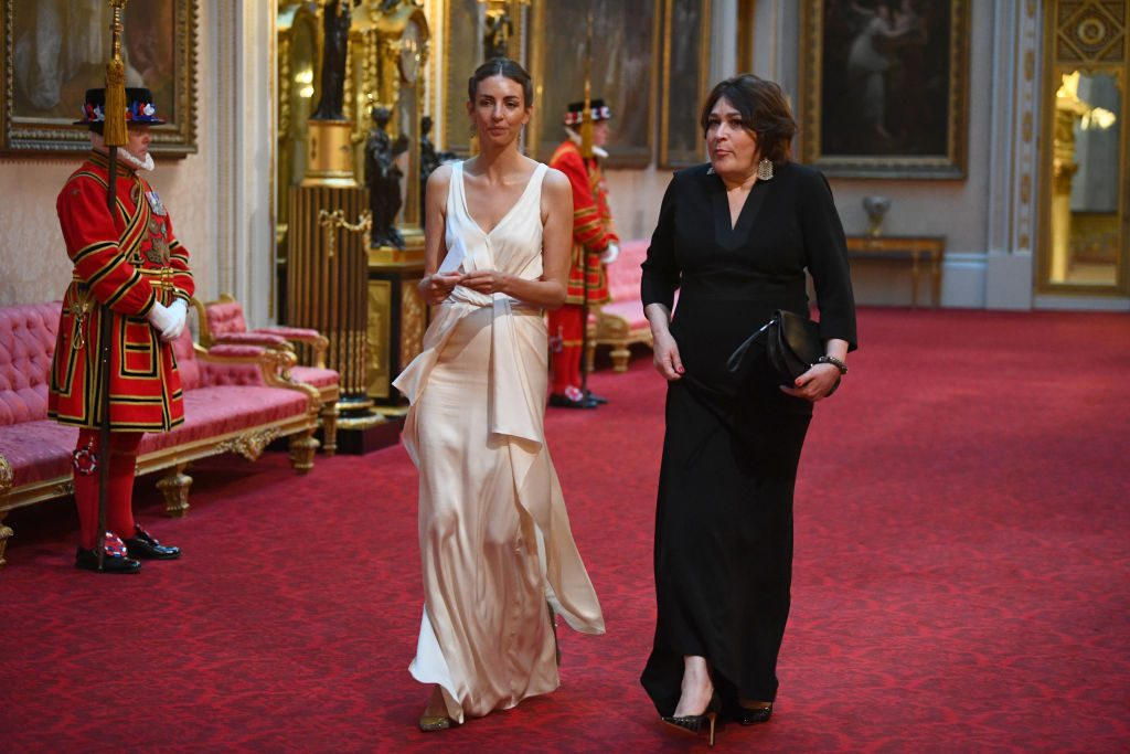 Rose Hanbury U.S. President Trump's State Visit To UK State Banquet