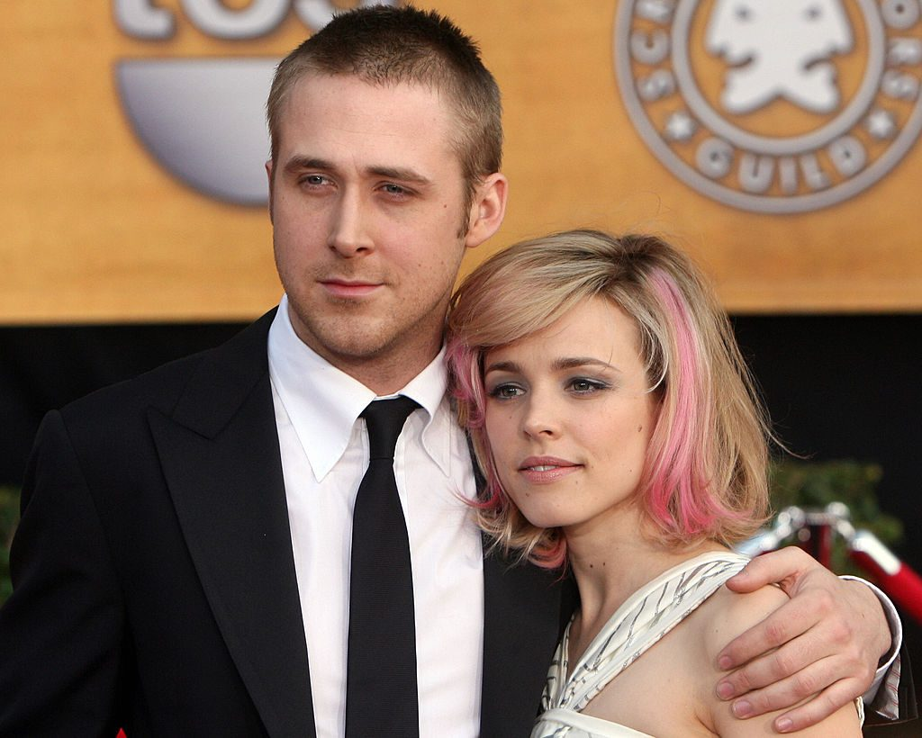 Actors Ryan Gosling and Rachel McAdams arrive on the red carpet of the 13th Annual Screen Actors Guild Awards, in Los Angeles, 28 January 2007.