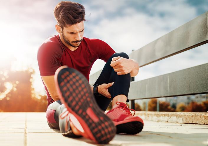 Muscle pain in leg