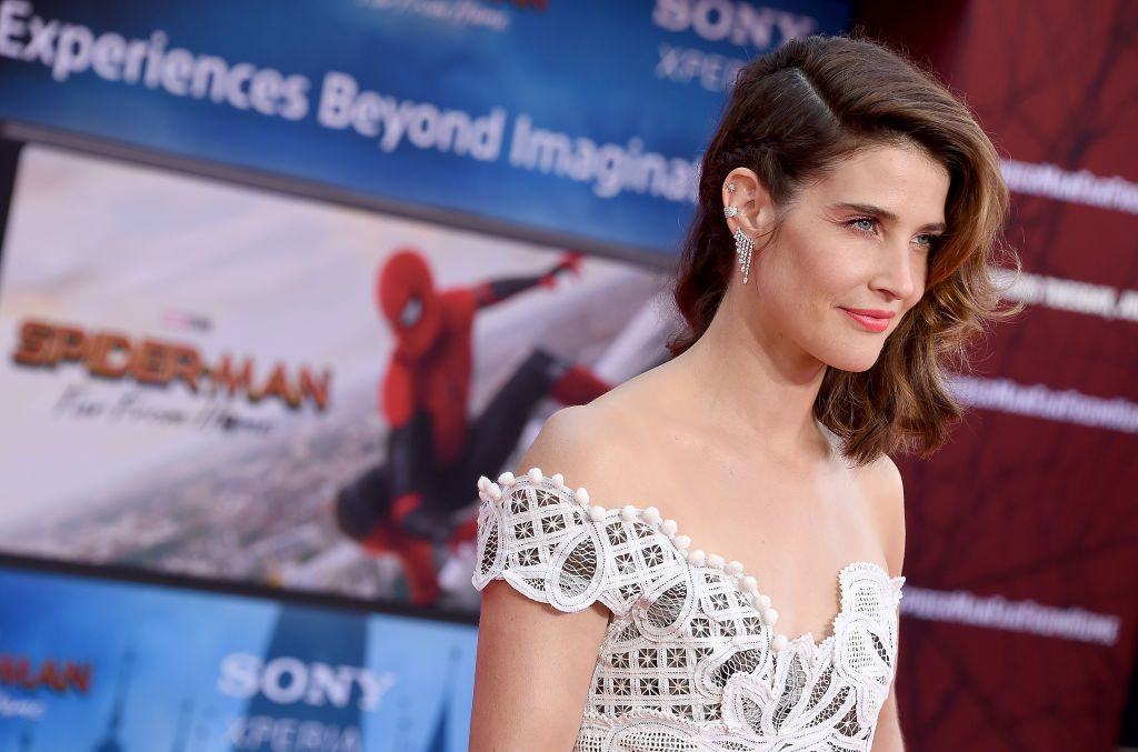 Cobie Smulders attends the premiere of Sony Pictures' Spider-Man Far From Home at TCL Chinese Theatre on June 26, 2019, in Hollywood, California.