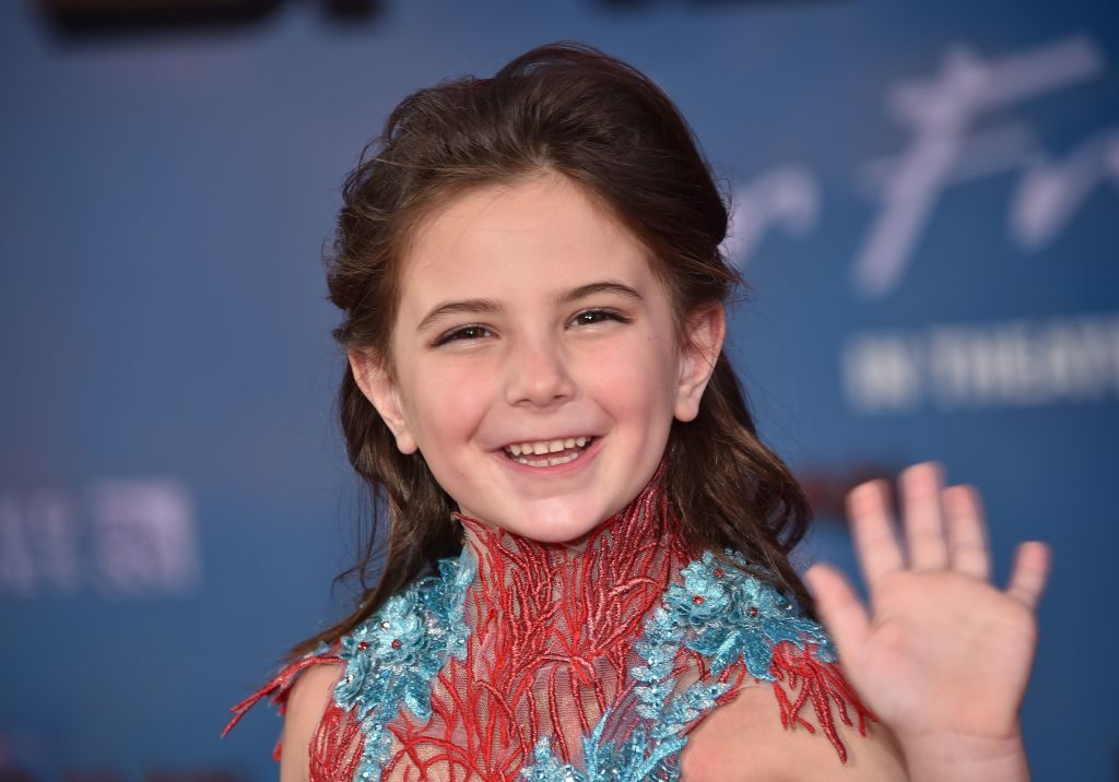Lexi Rabe arrives for the Spider-Man: Far From Home World premiere at the TCL Chinese Theatre in Hollywood on June 26, 2019.