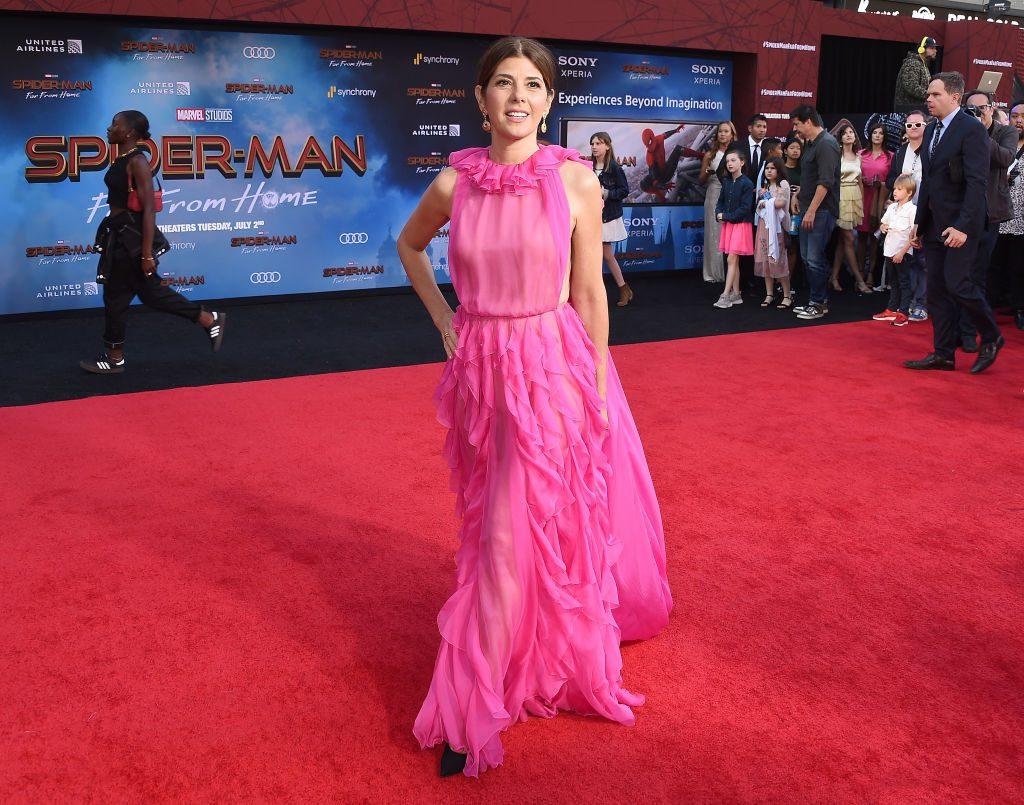 Marisa Tomei attends the premiere of Sony Pictures' Spider-Man: Far From Home at TCL Chinese Theatre on June 26, 2019, in Hollywood, California.