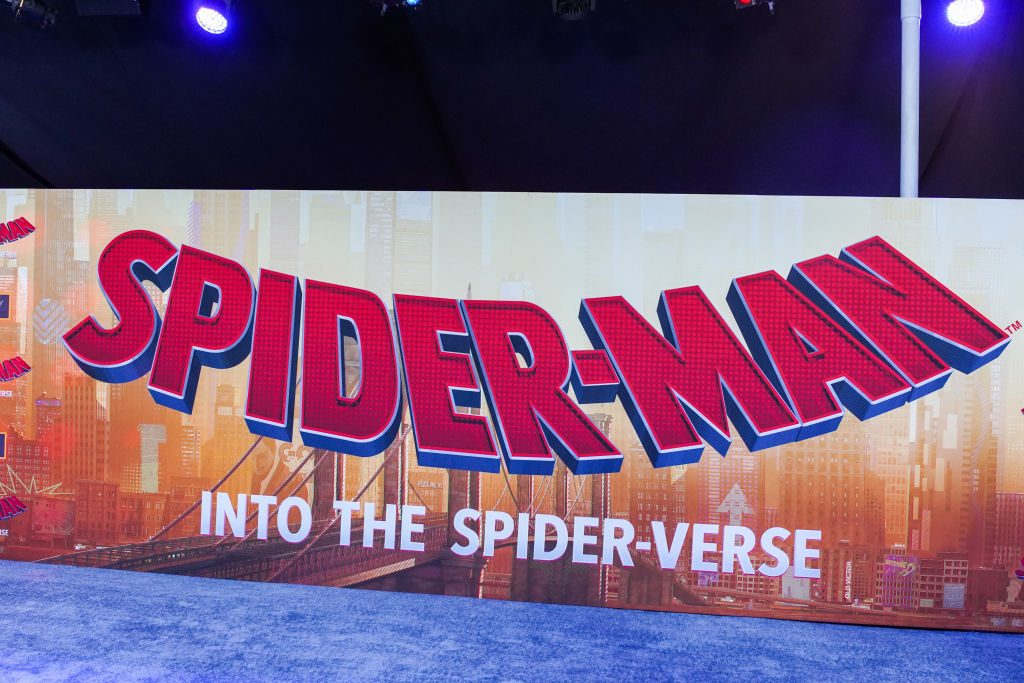 World Premiere Of Sony Pictures Animation And Marvel's Spider-Man: Into The Spider-Verse on December 01, 2018 in Westwood, California.