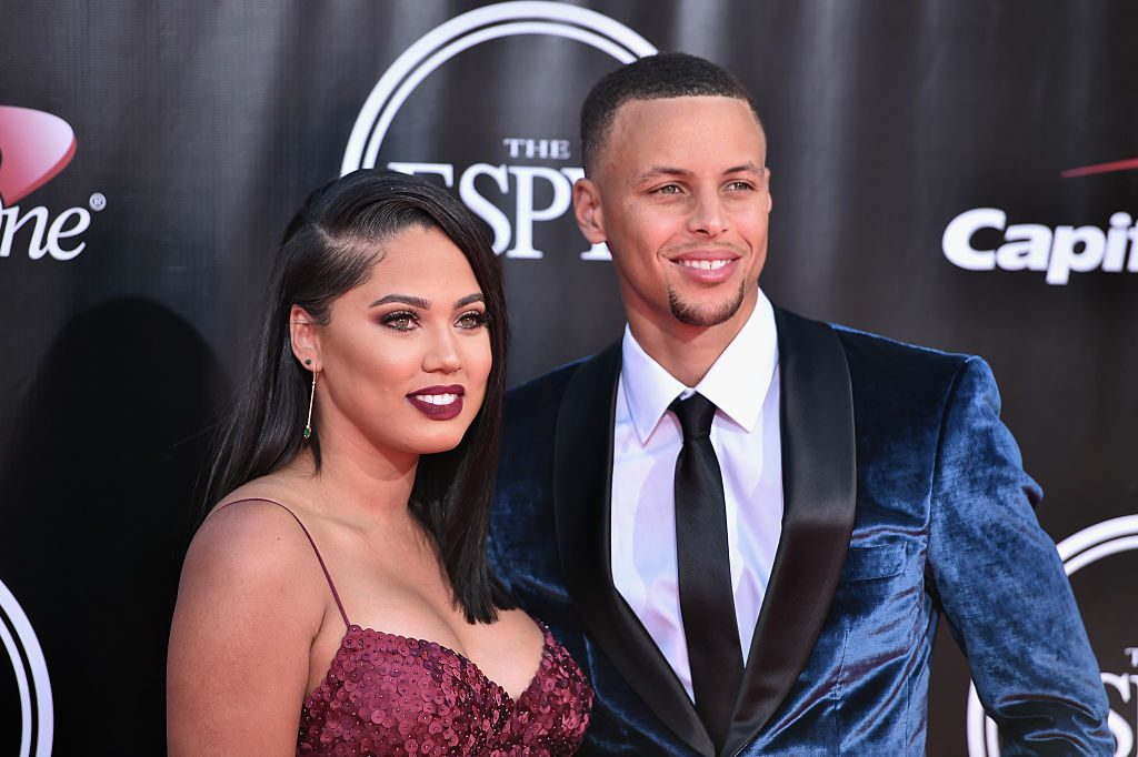 Ayesha and Steph Curry
