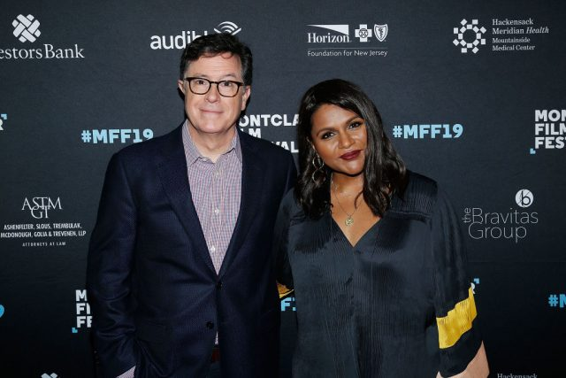 Mindy Kaling Hilariously Called Stephen Colbert Out On 'The Late Show'