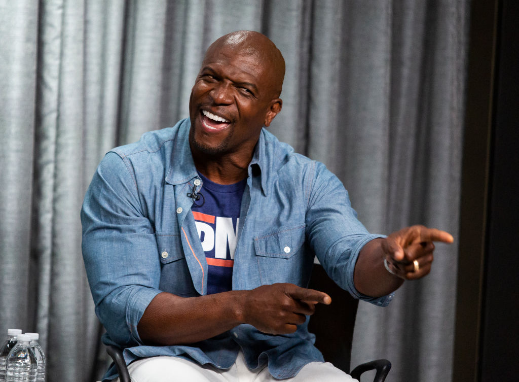 detailing b19bf bedfe Is Terry Crews Married & How Many Kids Does He Have?