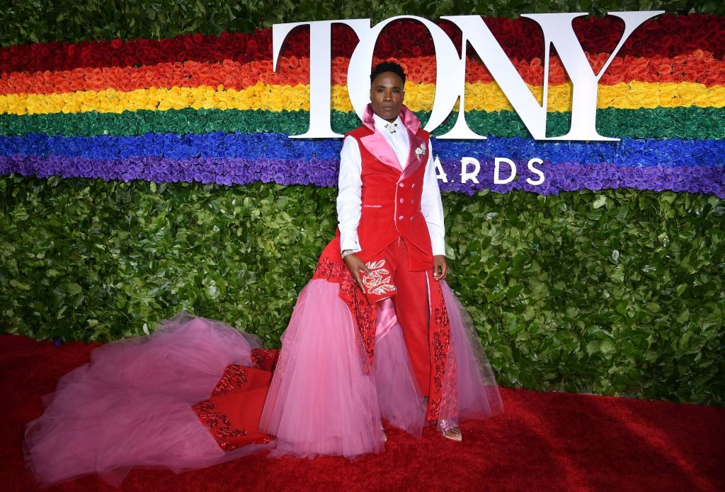 US actor Billy Porter attends the 73rd Annual Tony Awards at Radio City Music Hall on June 9, 2019 in New York City.