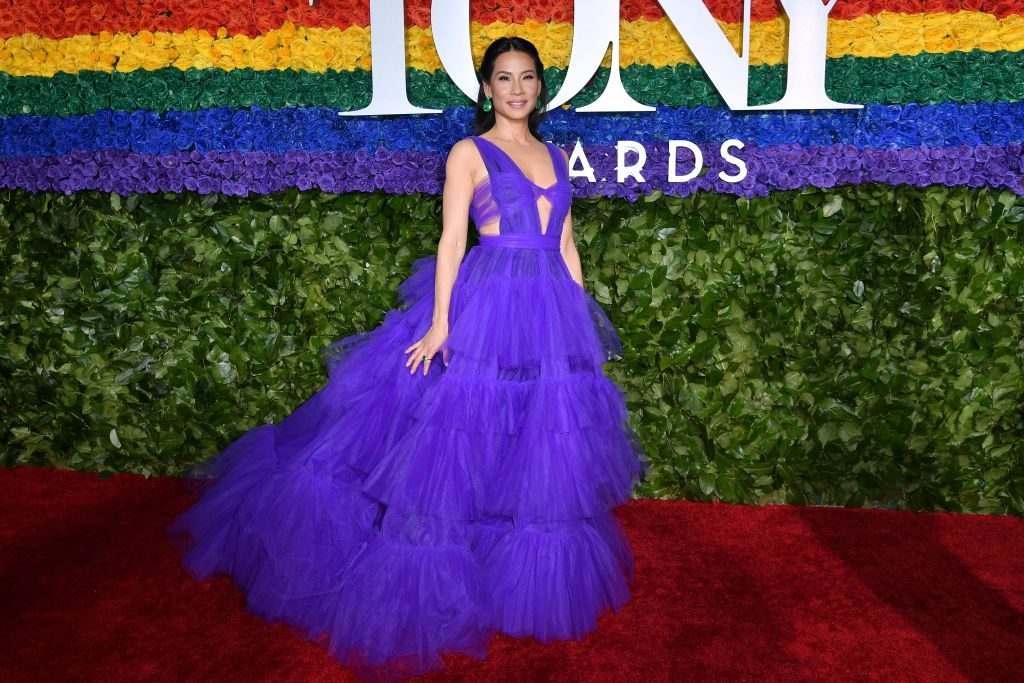 US actress Lucy Liu attends the 73rd Annual Tony Awards at Radio City Music Hall on June 9, 2019 in New York City.