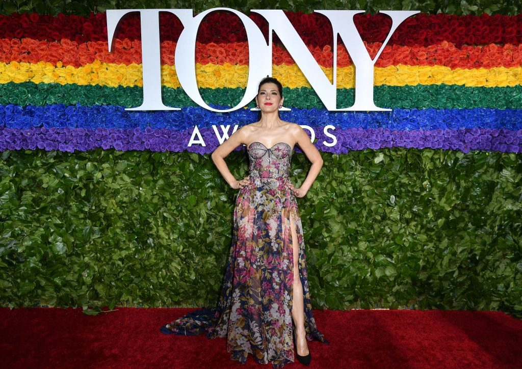 US actress Marisa Tomei attends the 73rd Annual Tony Awards at Radio City Music Hall on June 9, 2019 in New York City.