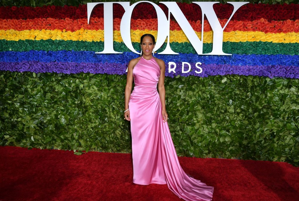 US actress Regina King attends the 73rd Annual Tony Awards at Radio City Music Hall on June 9, 2019 in New York City.