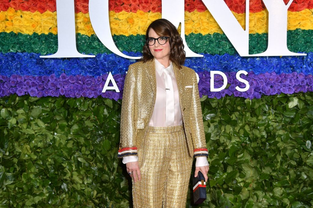 US actress Tina Fey attends the 73rd Annual Tony Awards at Radio City Music Hall on June 9, 2019 in New York City.