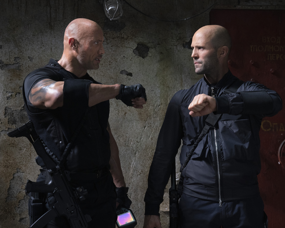 'Hobbs & Shaw' finishes in first place at box office with $60 million