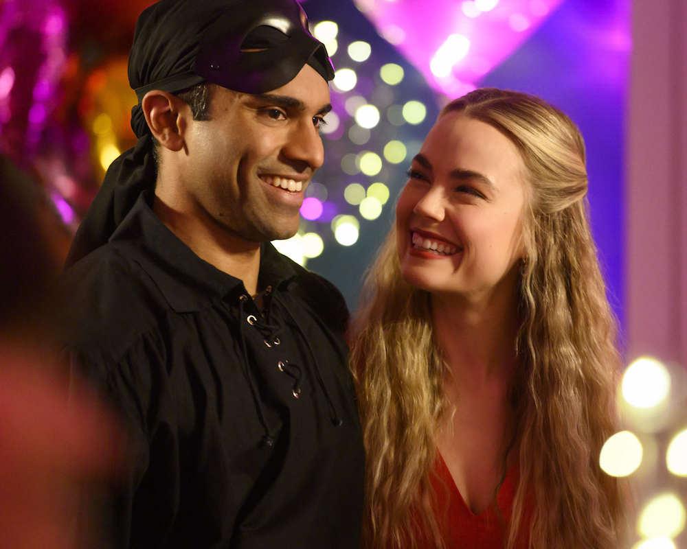 Nikesh Patel and Rebecca Rittenhouse