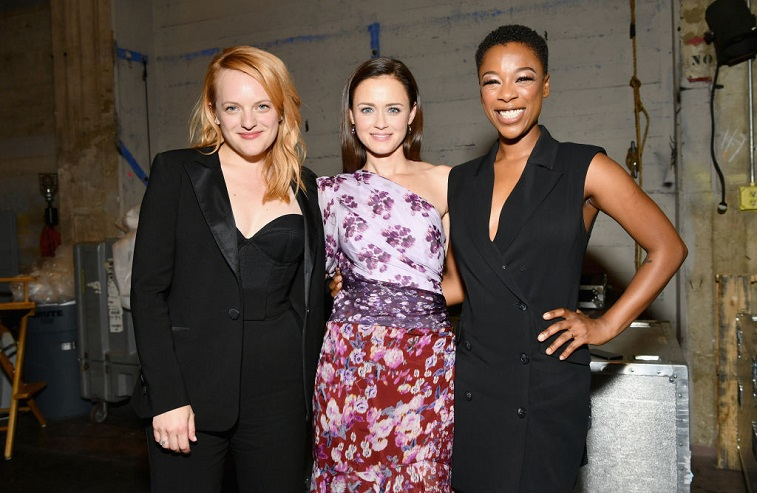 Elisabeth Moss, Alexis Bledel, and Samira Wiley