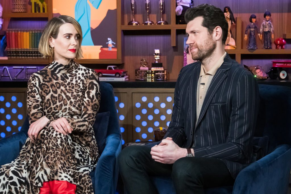 Sarah Paulson and Billy Eichner
