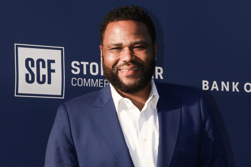 Anthony Anderson Stephanie Hollman
