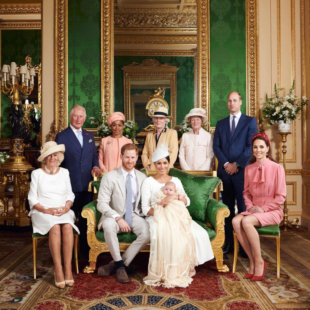Archie christening