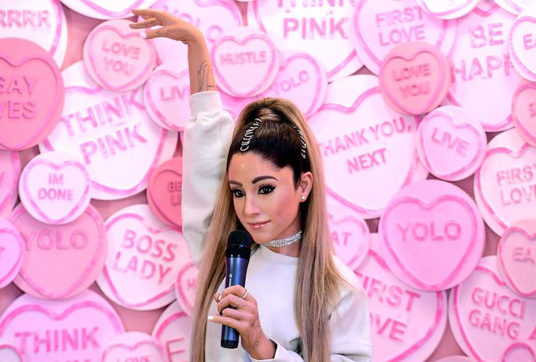 Ariana Grande's wax figure