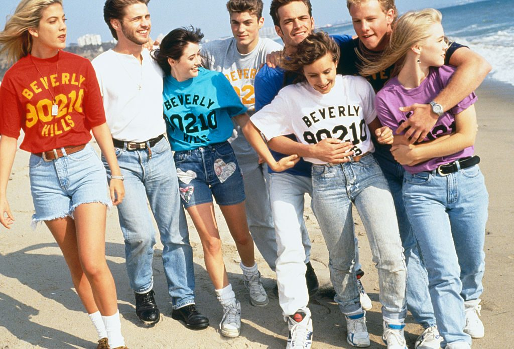 Beverly Hills 90210 Cast | mikel roberts/Sygma via Getty Images