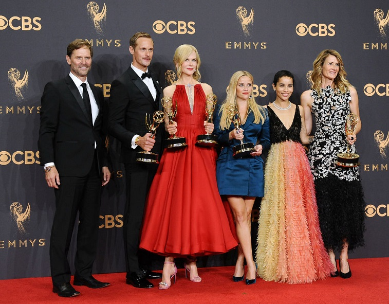 The cast of 'Big Little Lies' at the Emmy Awards