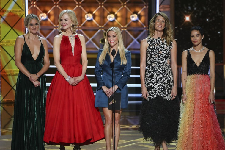 The cast of 'Big Little Lies' at the Emmys