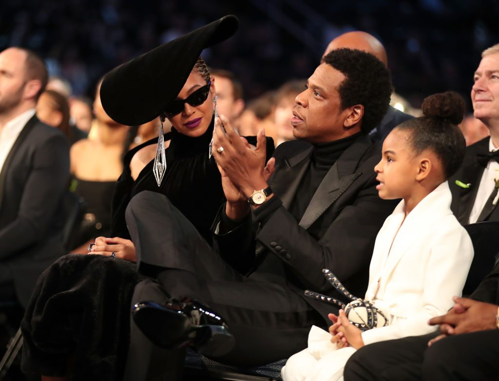 Beyonce, Jay Z and daughter Blue Ivy Carter