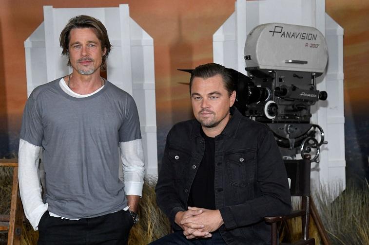 Brad Pitt and Leonardo DiCaprio
