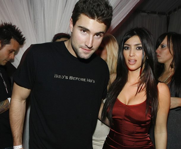 Brody Jenner and Kim Kardashian in 2007.