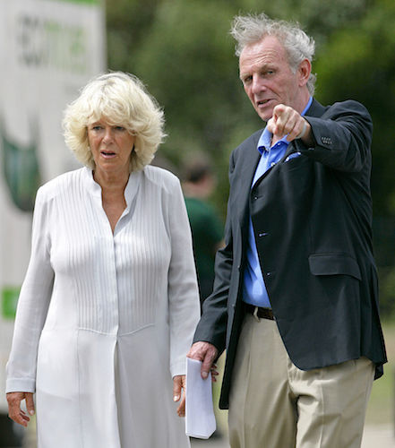 Camilla Parker Bowles and Mark Shand