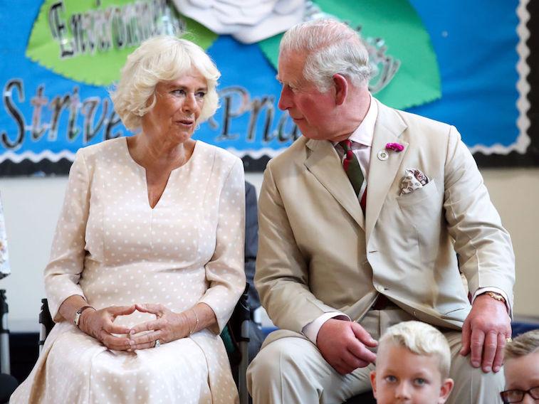 Prince Charles and Camilla, Duchess of Cornwall
