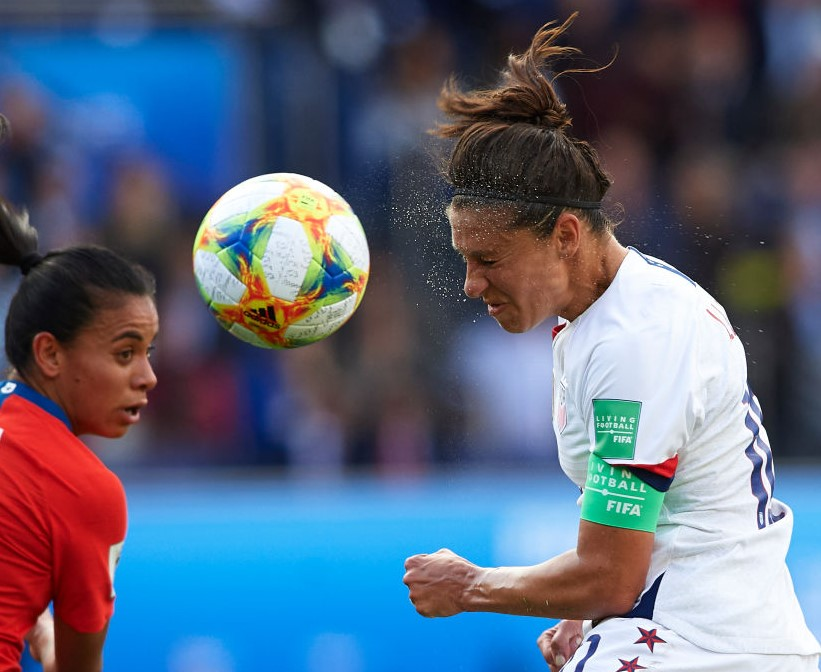 How Old Is Carli Lloyd And Who Is Her Husband Brian Hollins