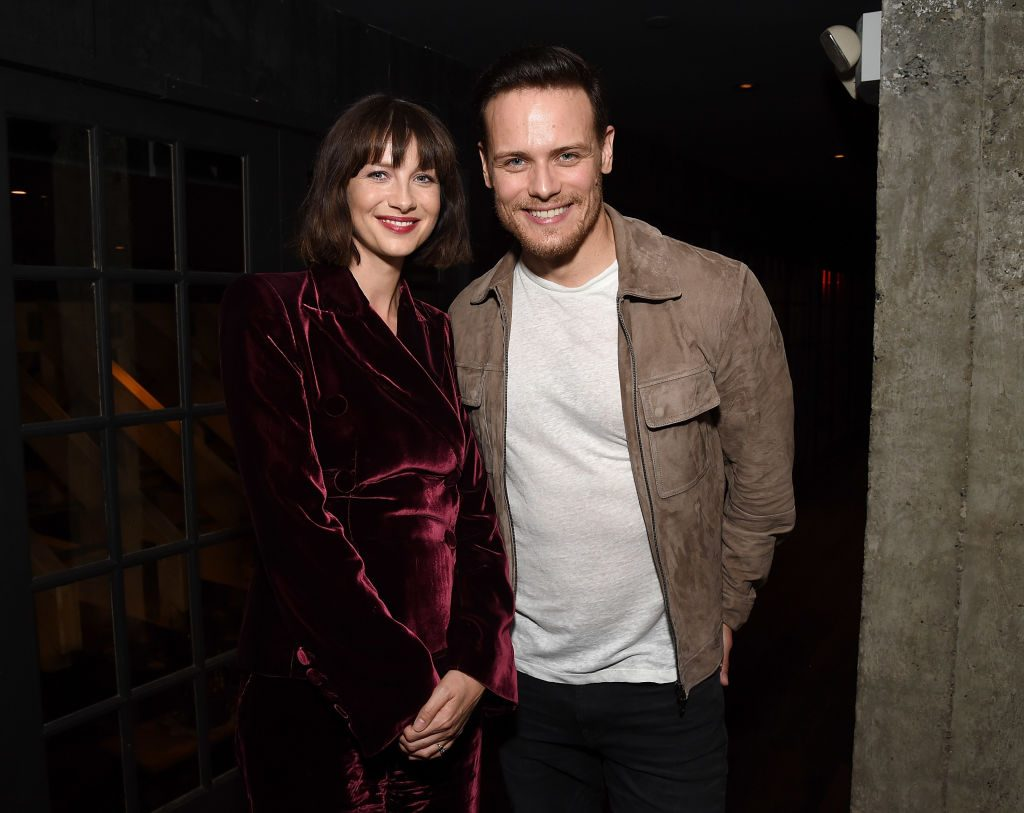 Catriona Balfe and Sam Heughan | Michael Kovac/Getty Images for Starz Entertainment LLC
