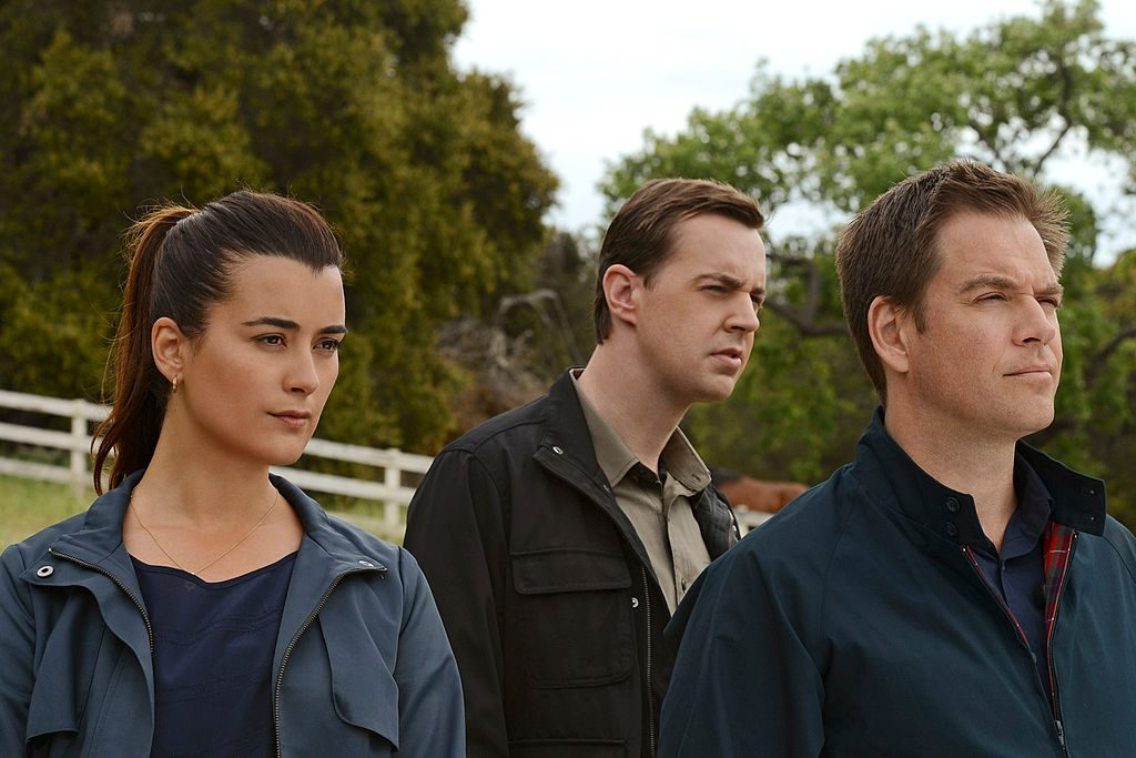 Cote de Pablo, Sean Murray, and Michael Weatherly | Michael Yarish/CBS via Getty Images