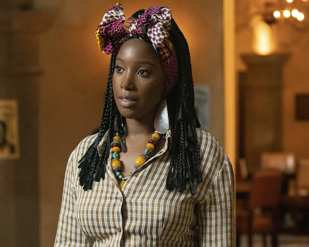 Ashley Blaine Featherson in Dear White People