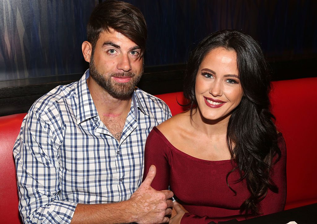 David Eason with Jenelle