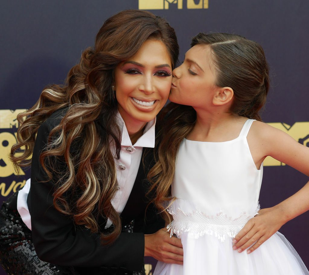 Farrah Abraham and daughter Sophia | Francis Specker/PA Images via Getty Images
