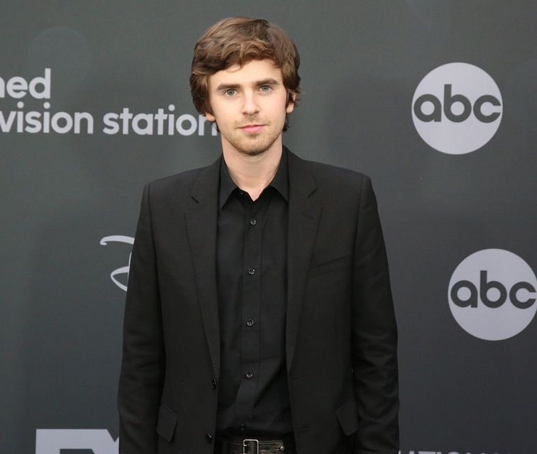 Freddie Highmore at an event