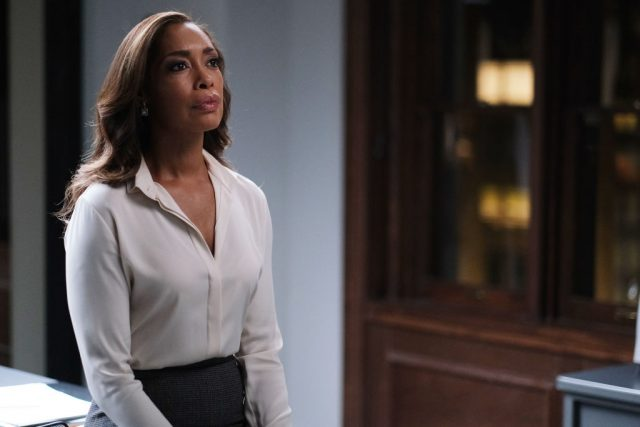Gina Torres as Jessica Pearson in 'Pearson'.