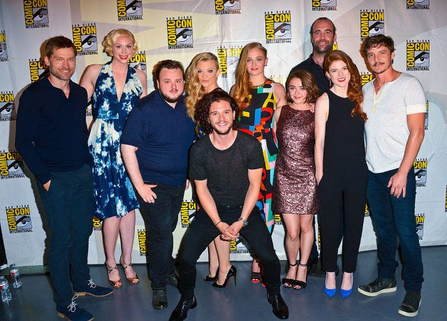 The 'Game of Thrones' cast at Comic-Con