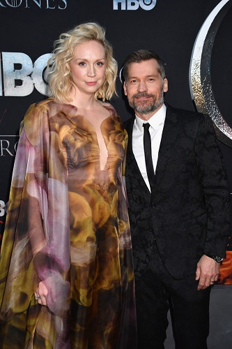 Gwendoline Christie and Nikolaj Coster-Waldau