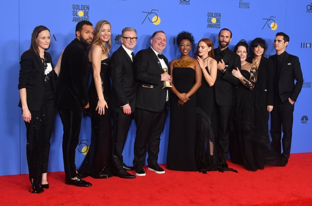 'The Handmaid's Tale' cast on the red carpet