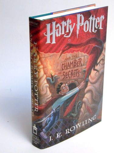 Harry Potter and the Chamber of Secrets.