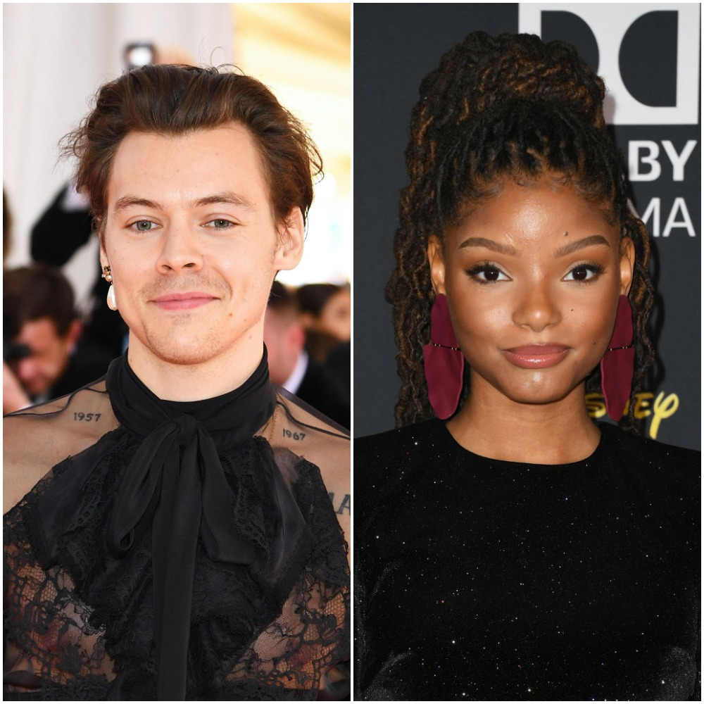 Harry Styles and Halle Bailey