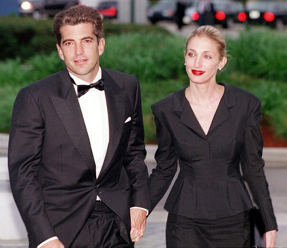 JFK Jr. and Carolyn Bessette Kennedy