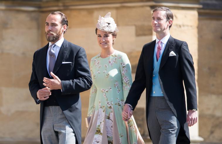 James Middleton, Pippa Middleton, and James Matthews