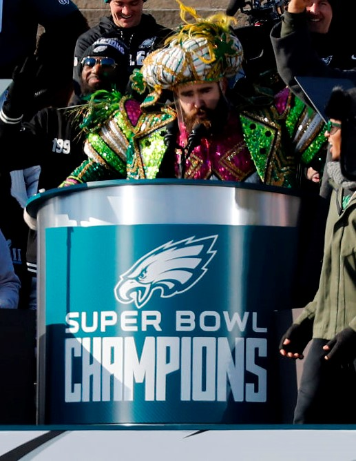 Jason Kelce's Speech during Eagles Super Bowl Victory Parade