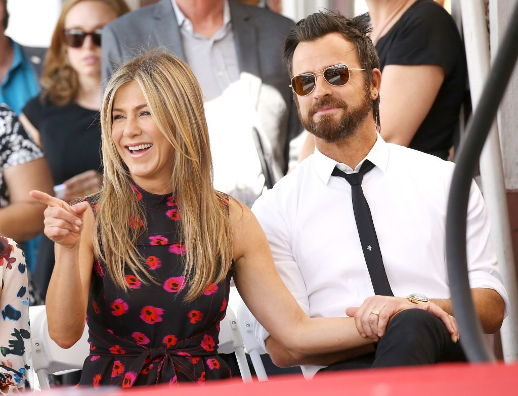 Jen Aniston and Justin Theroux