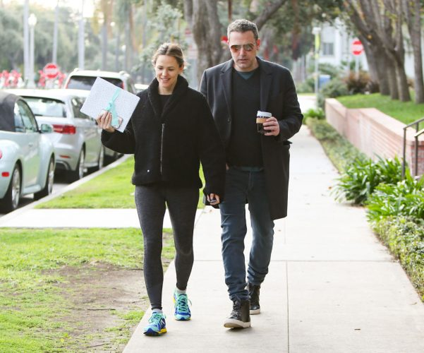 Jennifer Garner and Ben Affleck in 2019